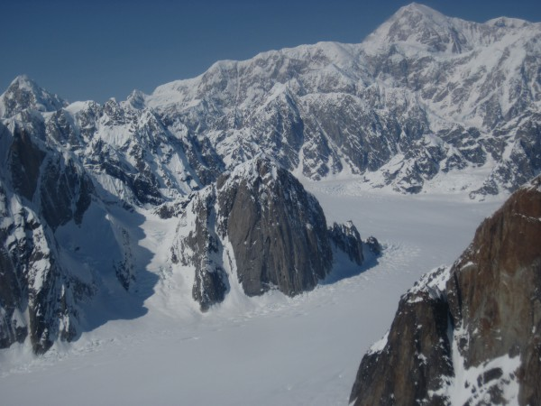 Mt. Barrill, with the 'Japanese Couloir' near its left margin, was one...