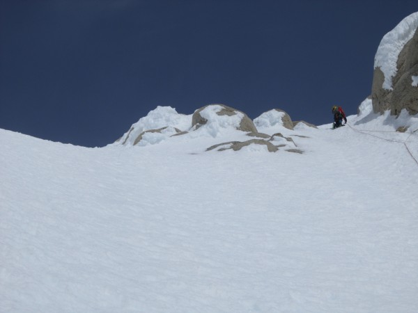 The top of col is to my left (pic courtesy of Steve Towne).