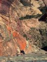 The Original Route-Rainbow Wall,Red Rock (Photo TR) - Click for details