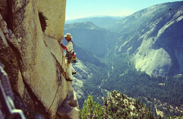 Pitch 3 .. The Traverse.. The move where you leave the Dihedral.This i...