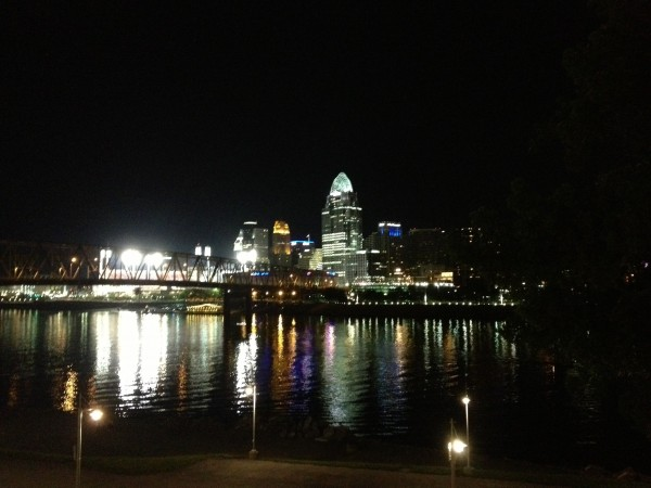 Cincy night scape.