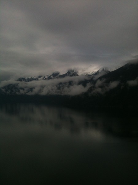 Not Squamish but close - Orford Bay, Bute Inlet