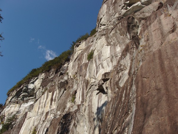 Just like El Cap, only not quite as big. Fabulously climbable granite,...