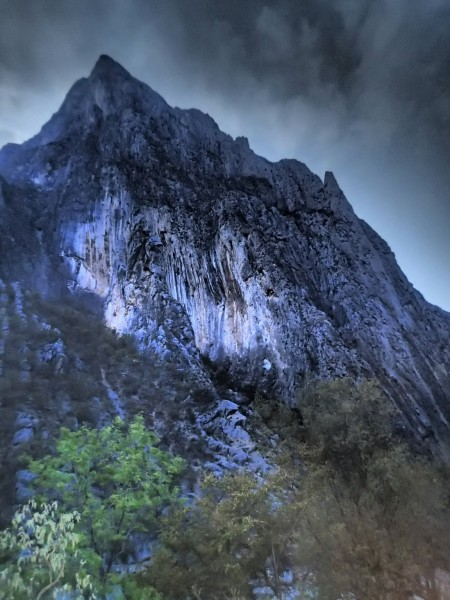 South face of El Toro, Potrero Chico, Mexico