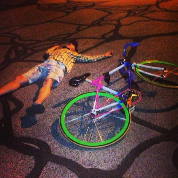 Stupid bike.