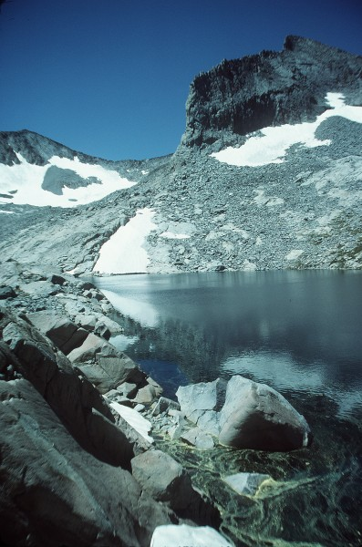 """Inkwell Lake"" beneath Simmons Peak"