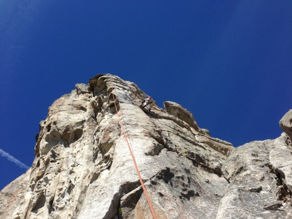 Ralph again, I promise my belay hand had the rope locked off :)