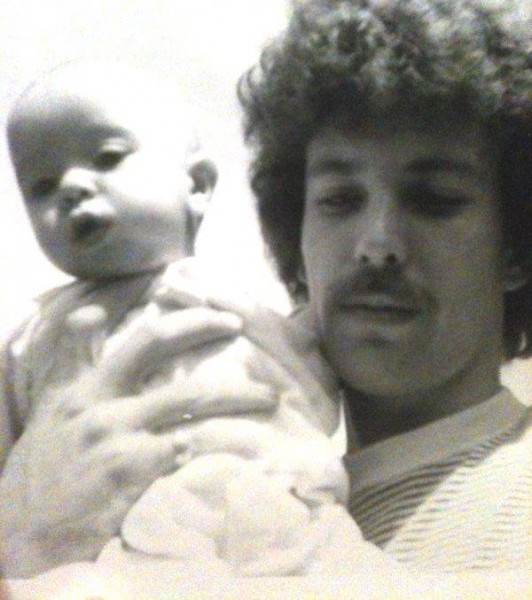 Me and my dad - 1970