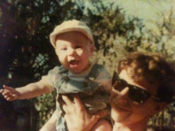 Me and my son - 1990