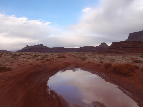 Hurrah Pass in the distance