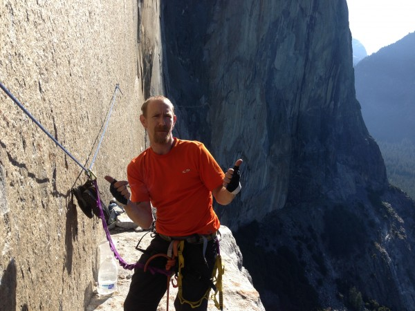 standing on el cap tower at 7:00am