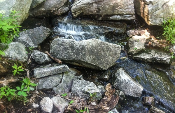 Lake Minnewaska outlet stream