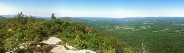 View from Millbrook Mountain---Click to enlarge!