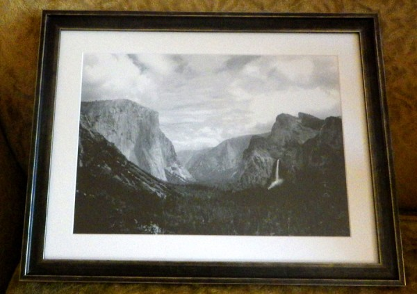 Yosemite Valley by Blitzo (framed)
