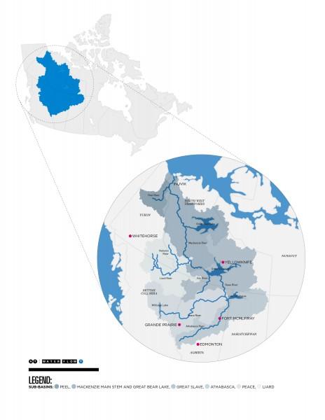Mackenzie Basin drainages