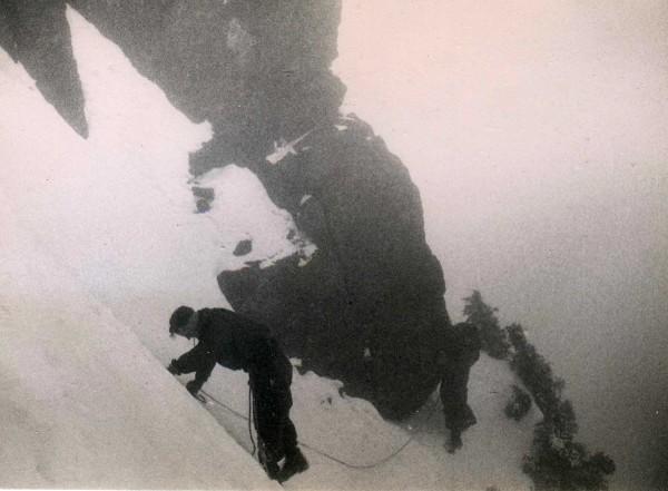 Sky Pilot, 1962.  Jim on left, Tony [obviously!] on right.
