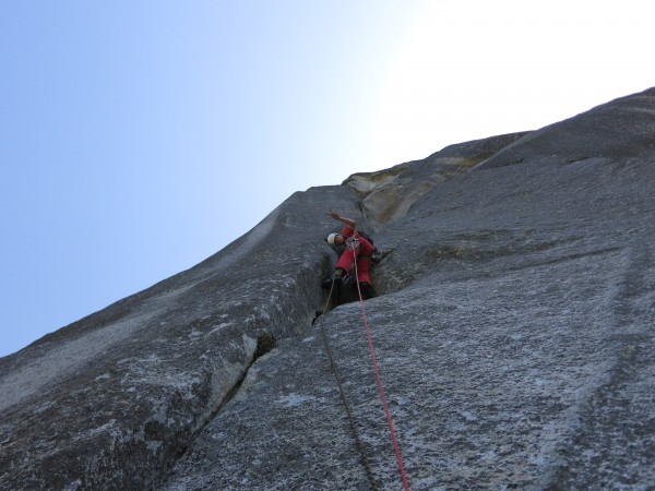 Chris McNamara leading Pitch 6.