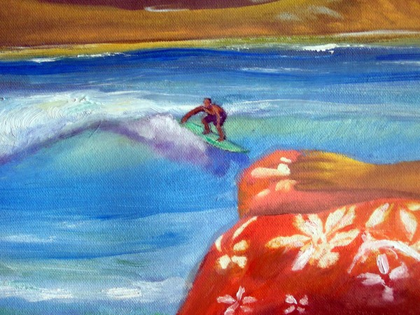 From original oil by Karen Lang <br/>