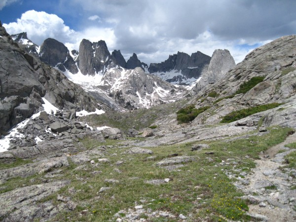 View of the Cirque from Jackass Pass