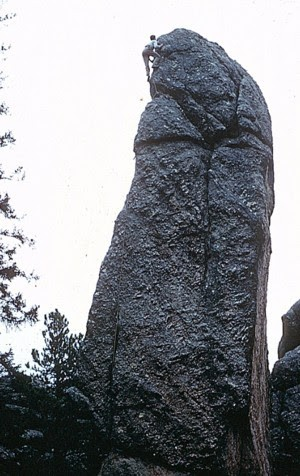First ascent of Tiki, Tom Higgins, pretty long ago