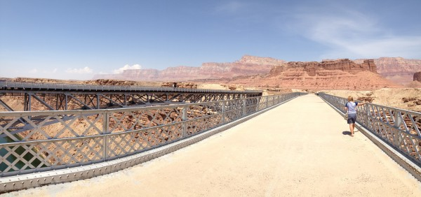Navajo Bridge panorama.