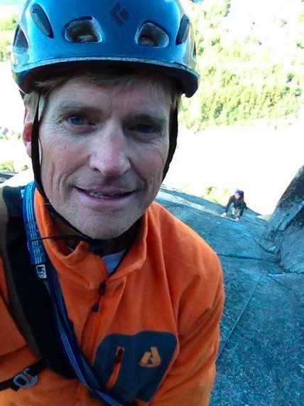 At Squamish this past Fall (little brother Keith, following on Die...