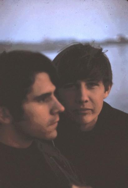 Russ & Dennis, New Year's Day, 1968.