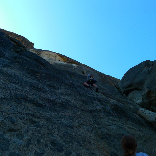 Mike Arechiga on, Poking Papa Bear. 5.fun, great route!