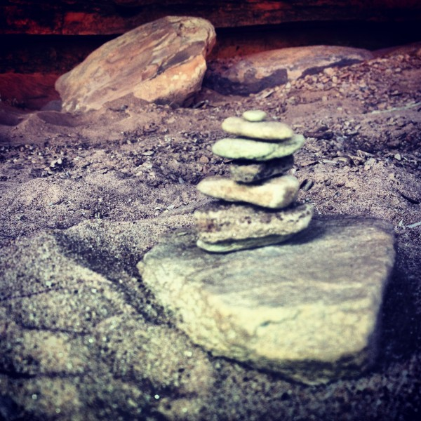 Cairn to nowhere.