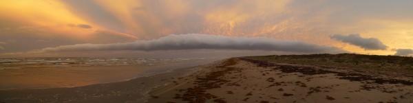 Padre Island National Seashore, June cold front