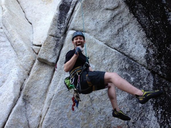"""Will laughing at how hard it is getting through the first crux on """"Do ..."""