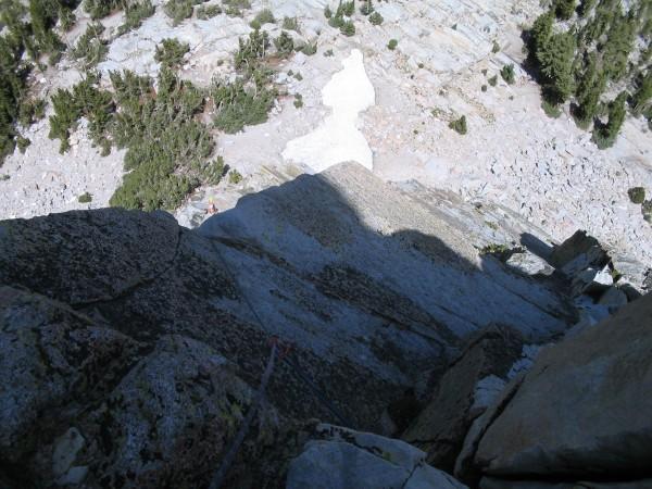 Airy ramp on Crystal Crag