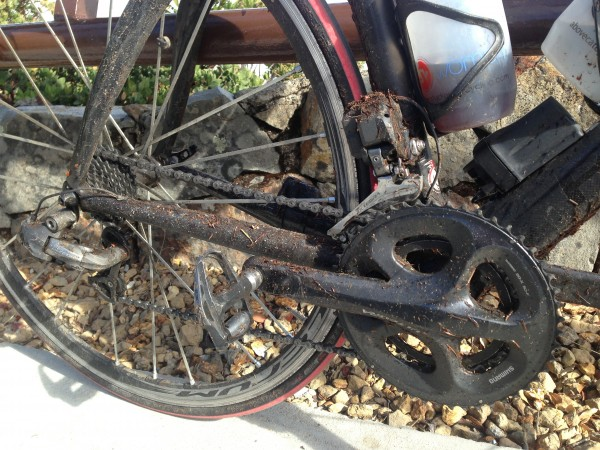 Knott so clean bike after the Deer Park Fire Road RainForest� climb