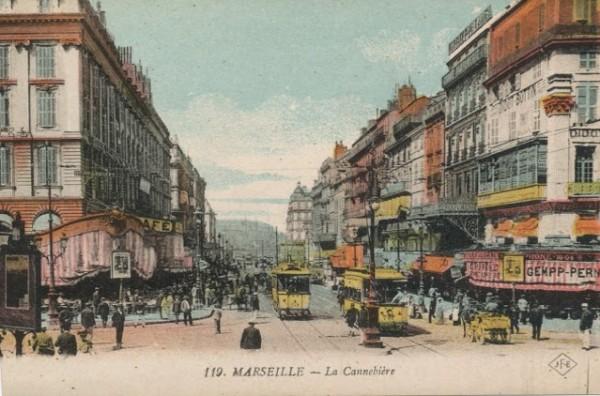 Marseille La Cannebiere