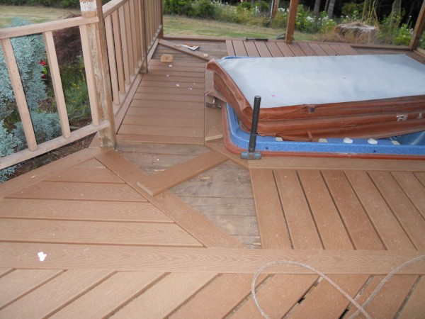 Deck around Spa