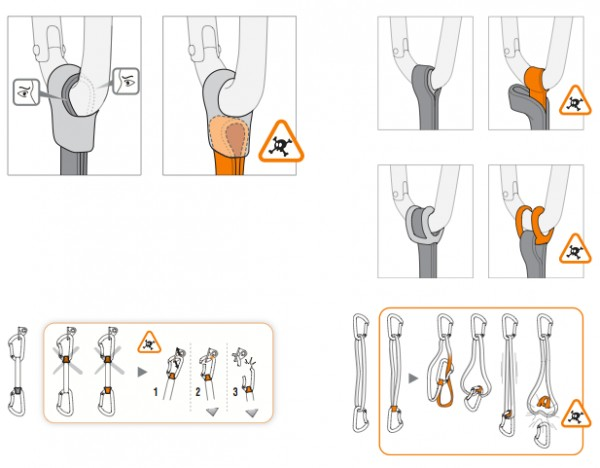"""String"" precaustions from Petzl"