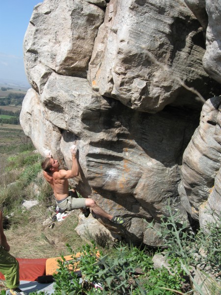 Boulders in Balcarce