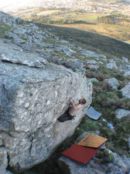 Bouldering in Balcarce