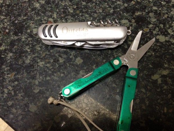 Gift from Outside and my little fav Leatherman.