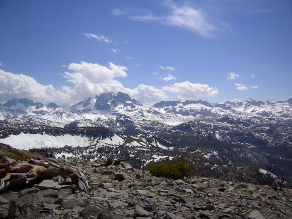 Ritter Range from the summit of Carson Peak....May 2012