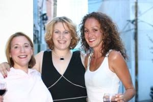 Linda, my 2004 Parallel Lives cast mate, Jordan, and Leggs <br/>