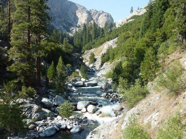 Middle Fork of the Kings. The most dramatic river and terrain I have s...