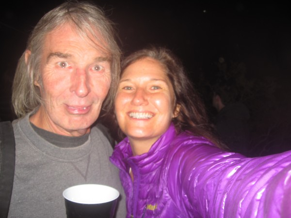 Selfie of Billy and I at Seth's spring party in J-Tree, April 2013