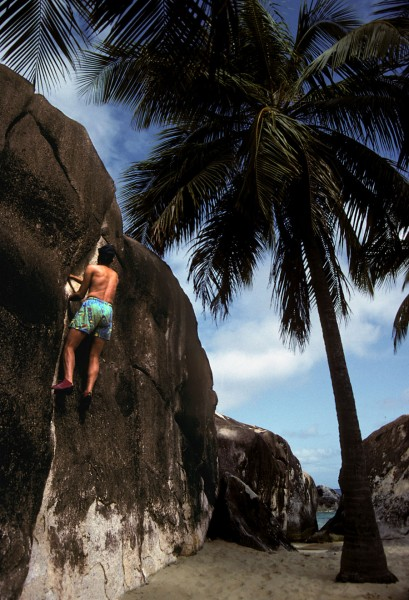 SLR on Virgin Gorda, 1980s