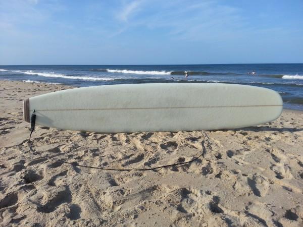 """10'1"""" longboard deck (waxed)"""