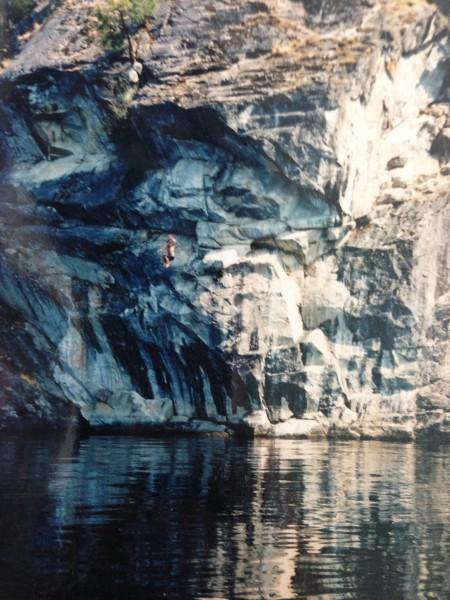Texas point, Christina lake