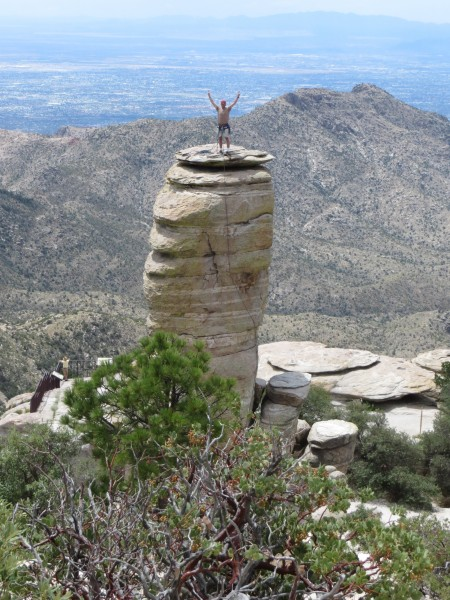 Hitchcock Pinnacle, Mt. Lemmon, AZ. <br/>