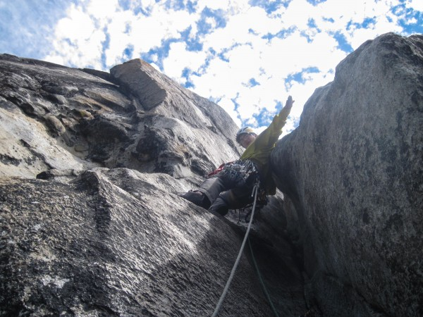 free climbing on top of el cap! p19