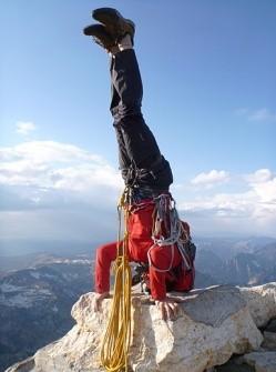 Jeff on the summit