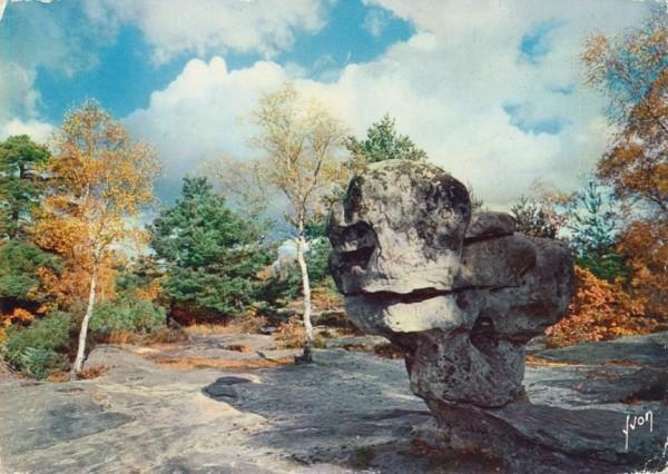 Gorges de Franchard - Le Sphinx des Druides
